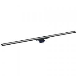 Canal de douche en acier inoxydable, 90 cm, métal foncé (154.450.00.1)