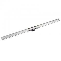 Canal de douche en acier inoxydable, 130 cm, métal poli (154.451.KS.1)