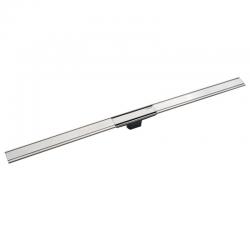 Geberit Canal de douche en acier inoxydable, 90 cm, métal poli (154.456.KS.1)