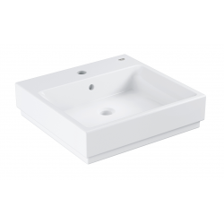 Cube Ceramic Lavabo, 500 x 490 mm, Blanc alpin (3947400H)