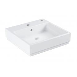 Cube Ceramic Lavabo, 500 x 490 mm, Blanc alpin