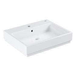 Cube Ceramic Lavabo, 600x490 mm, PureGuard, blanc alpine