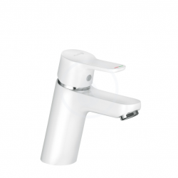 Mitigeur Lavabo Chrome/Blanc (370289165)