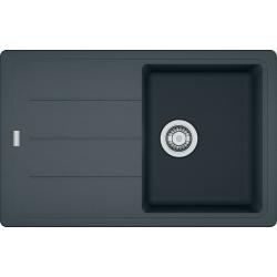 BASIS - Évier fragranit BFG 611-78, 780x500 mm, graphite (114.0285.165)