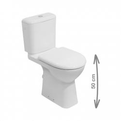 Pack WC à poser Deep PMR avec évacuation horizontale