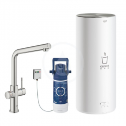 Grohe Red Duo Robinetterie et chauffe-eau taille L, Supersteel