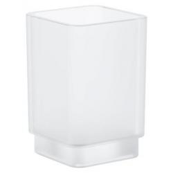 Selection Cube Verre en cristal, blanc satiné daVinci (40783000)