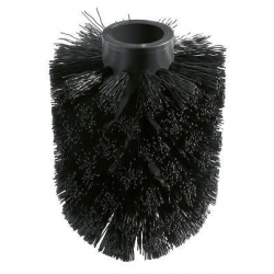 Essentials Tête de brosse WC pour rechange, noir (40791KS1)