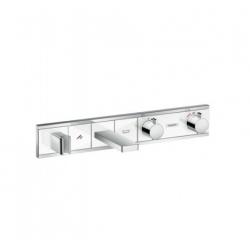 RainSelect Module thermostatique Select bain/douche encastré, blanc/chromé (15359400)