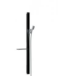 Unica Barre de douche Unica'E 0,90 m, noir/chromé (27640600)