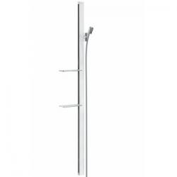 Unica Barre de douche Unica'E 1,50 m, blanc/chromé (27645400)