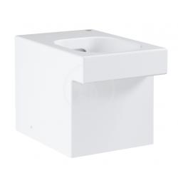 Cube Ceramic Cuvette WC à poser au sol, Blanc alpin (3948500H)