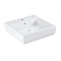 Cube Ceramic Vasque à poser 50cm, blanc alpin (3947800H)