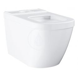 Euro Ceramic Cuvette WC à poser, blanc alpin (3933800H)