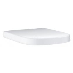 Euro Ceramic Siège abattant WC, blanc alpin (39330000)