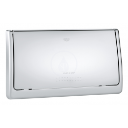 Classic Plaque de commande, chromé mat (37053P00)