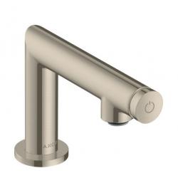UNO Robinet de lave-mains Select eau froide sans tirette ni vidage, nickel brossé (45130820)