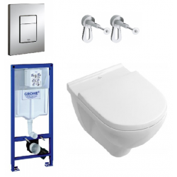 Pack WC Targa + Rapid SL (SETSLVB)