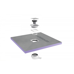 Receveur de douche à carreler Aqua Centré 1000x1000x40 (4512088)