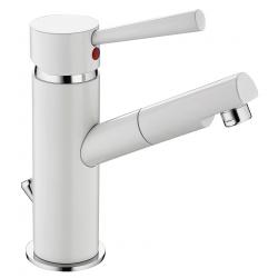 CORNWALL mitigeur monocommande lavabo, blanc