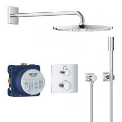 Set de douche Rainshower Cosmopolitan 310 avec thermostat encastré, chrome (34730000)