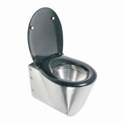 Toilette suspendue en acier inoxydable (SLWN 04)