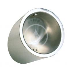 Urinoir automatique en acier inoxydable avec unité de rinçage thermique intégrée, 24 V CC (SLPN 09C)