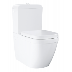 Euro Ceramic Pack WC à poser haut de gamme, alimentation par le dessous (39462000)