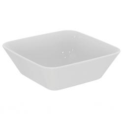 Vasque blanche à poser Connect Air en gré fin (E0347)