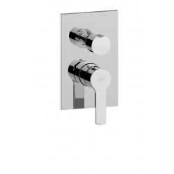 Mitigeur de douche encastré (3 sorties)