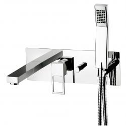 Effe Mitigeur bain douche avec corps + set de douche - PAFFONI EF001CR