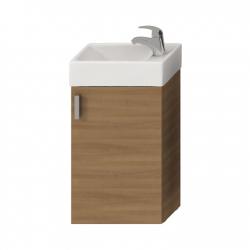 PETIT - meuble couleur cerisier avec lave-main 40 x 23,5cm (H4535111753081)