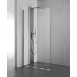 Paroi de douche 140 cm, Finition argent brillant - Ideal Standard L6226EO