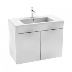 Jika - Lavabo avec armoire 80 x 43 cm, blanc