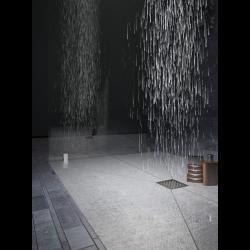 Jackon Receveur de douche à carreler Aqua Décentré 2000x1000x40mm