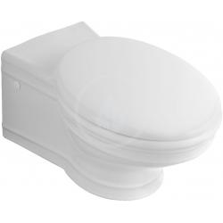 WC suspendu, Ceramicplus, blanc, 365 mm x 645 mm