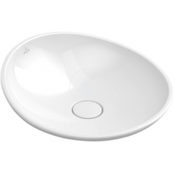 Vasque à poser My Nature VILLEROY & BOCH, CeramicPlus, Blanc