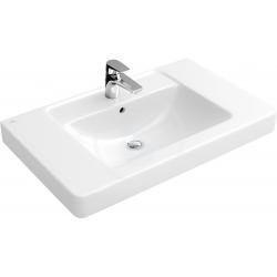 Plan de toilette VILLEROY & BOCH Architectura, 1000 mm x 485 mm,CeramicPlus, blanc