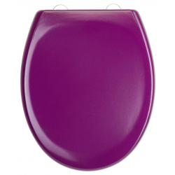 DARK PURPLE Abattant WC en Duroplast de haute qualité avec abaissement automatique et détachable