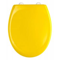 YELLOW Abattant WC en Duroplast de haute qualité avec abaissement automatique et détachable
