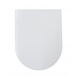 BRISTOL/LEISE SCHLIESST Abattant WC en Duroplast de haute qualité avec abaissement automatique et détachable