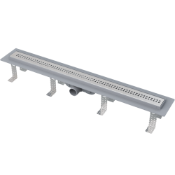 Drain de douche simple pour grilles perforées 55 x 14,5 x 8 cm (CPZ9-550M)