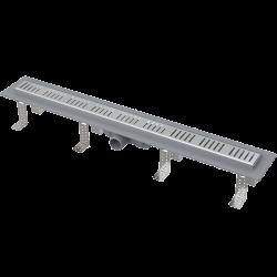 Drain de douche simple pour grilles perforées 85 x 14,5 x 8 cm (CPZ10-850M)
