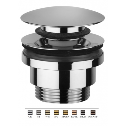 Light Exclusive - Bonde clic-clac lavabo, noir nickel brossé (ZSCA050NKNSP)