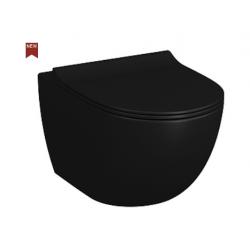 Cuvette suspendue VITRA SENTO BLACK MATT