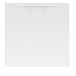 Receveur Architectura Metalrim, 800 x 800 x 48 mm, blanc (UDA8080ARA148V-01)
