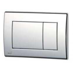 Plaque de commande pour WC suspendus, Chrome-poli (m271)