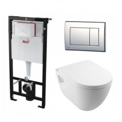 Set WC sans bride tout en un (Alcastarset-sm26)