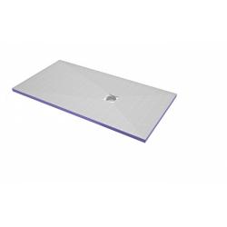 Bac de douche Aqua décentré 1800x900x50 + siphon horizontal offert (4512099 + 4512007)