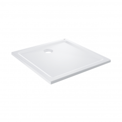 Receveur de douche 90x90cm acrylique blanc (39301000)